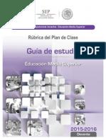 Guia de Estudio Planeacion Didactica