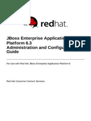 JBoss Enterprise Application Platform-6.3-Administration and ...