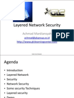 Layered Network Security - Achmad