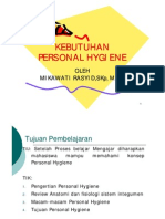 Kebutuhan Personal Hygiene [Compatibility Mode]