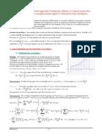 calcul approché d'intégrales définies