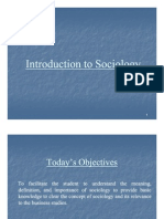 DT Introduction of Sociology