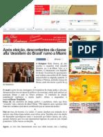 Após eleição, descontentes da classe alta 'desistem do Brasil' rumo a Miami - CaarapoNews - O Número 1 de Caarapó