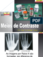 Contraste Radiológico - Iodo Bário Gadolíneo