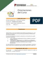 f5-Orientaciones Del Curso-dinamicas de Grupo
