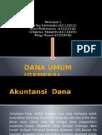 Dana Umum (General Fund)