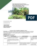 Plan de Accion Mayo Junio Ambiente 2015