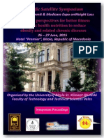 Scientific Symposium of Nutrition for Euro Global Summit & Medicare Expo, Franfurkst, Proceedings 2015