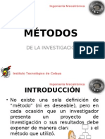 Métodos de La Investigación