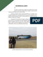 Informe de Geología