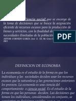 Definicion Economia