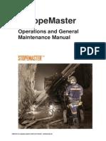 Manual de Operación Stopemaster SP1