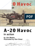 A-20 Havoc in Action