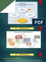 Curso de Formulación y Evaluación de PIP Módulo III