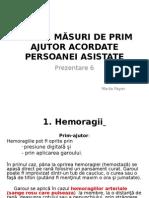 6. Ingrijiri La Domiciliu Urgente