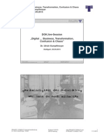 [DE] Digital... Business, Transformation, Confusion & Chaos | Dr. Ulrich Kampffmeyer | Stuttgart 30.09.2015 | DOK.live-Session @ IT & Business