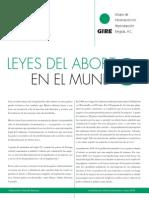 Leyes Del Aborto en El Mundo PDF