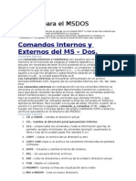 Manual Ms Dos free