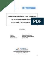 Caracterización de Una Empresa de Servicios Energeticos