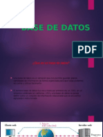 Base de Datos Presentacion en Power Point