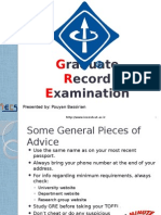How to Apply - IEEE - GRE_Pouyan