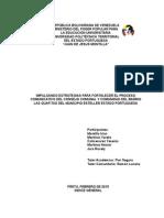 Proyecto Impulsando Estrategias Para Fortalecer El Proceso Comunicativo