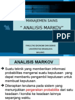 Operation Research Analisis Markov