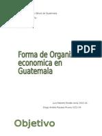 Formas de Organizacion Economica Micro