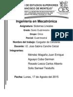 Reporte Cargador de Celulares I.E. Sabino