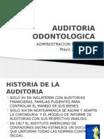 AUDITORIA ODONTOLOGICA - 2014