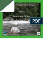Componente biotico cuenca alta del rio Dagua