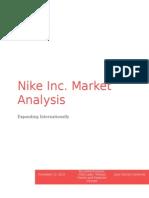 nike marketing analysis