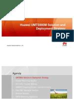 UMTS900 Deployment Strategy V1.0