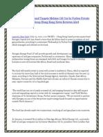 $1B Hong Kong Fund Targets Midsize Oil Cos by Forbes Private Capital Group Hong Kong News Reviews Alert