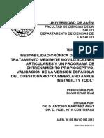 2013 Inestabilidad crónica de tobillo tratamiento mediante movilizaciones articulares y un programa de entrenamiento propioceptivo.pdf