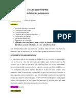 4. Analisis de Intrumentos Entrevista a Autoridades