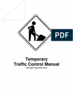 Temporary Traffic Control Devices Manual Info