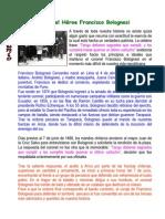Biografia Del Heroe Francisco Bolognesi