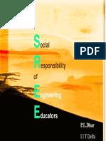 Social responsibility of engineering educators