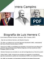 Biografía de Luis Herrera C