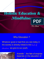 Holisitic education mindfulness