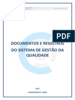 Documentos e Registros Da Qualidade