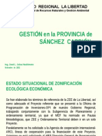 Informe de Gestion en Sanchez Carrion 1-9-2011