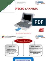 Formación Para El Personal Docente PROYECTO CANAIMA