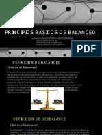 Principios Basicos de Balanceo