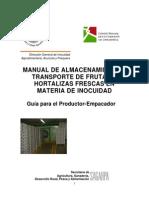 Alamcenamiento y Transporte de Frutas
