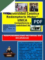 COMPETENCIA Y RESPONSABILIDAD NOTARIAL VERSION UNICA JULIO DE 2011.pptx