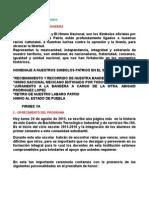 Programa Inauguracion 2015-20116