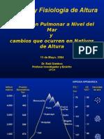 Circulacion Pulmonar anivel del mar y cambios en nativos de~1