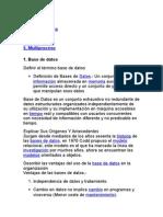 Material Base de Datos